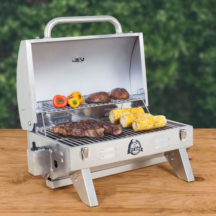 Pit Boss Stainless Steel 1-Burner Portable Propane Gas Grill - 75283