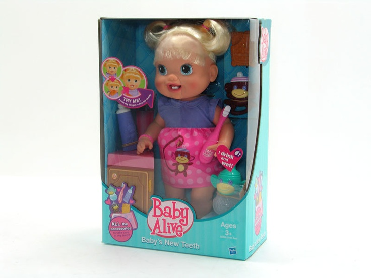 New Kids Baby Alive, Baby's New Teeth Dole, with accessories, Great gift idea   eBay $34 with free shipping Australia wide...