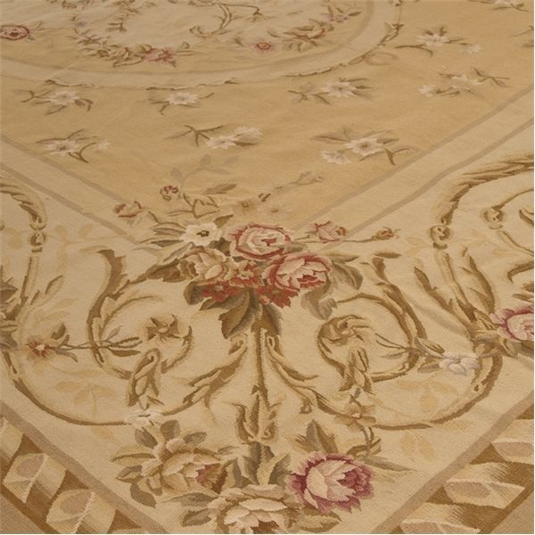 chambery aubusson rug 5002g6 detail - Aubusson Rugs