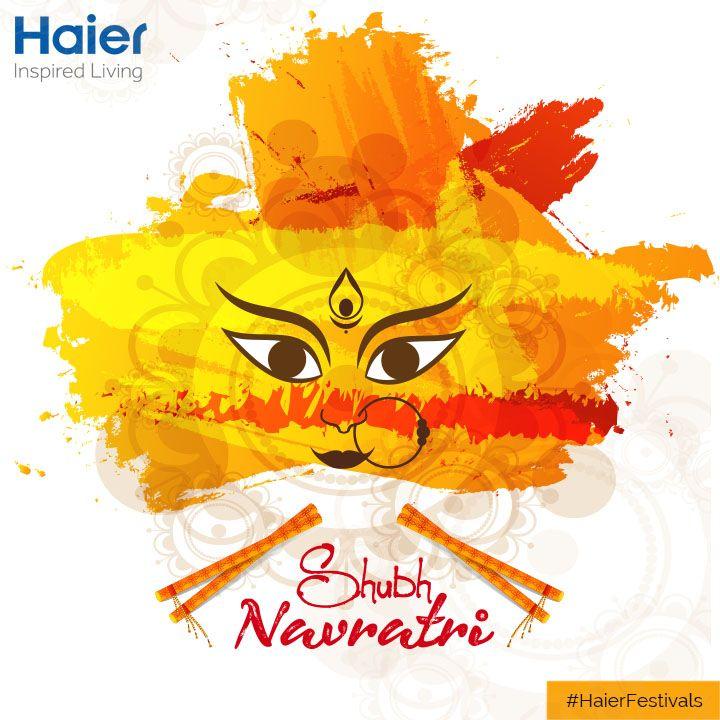 #HaierIndia wishes everyone a #HappyNavratri.  #HaierFestivals