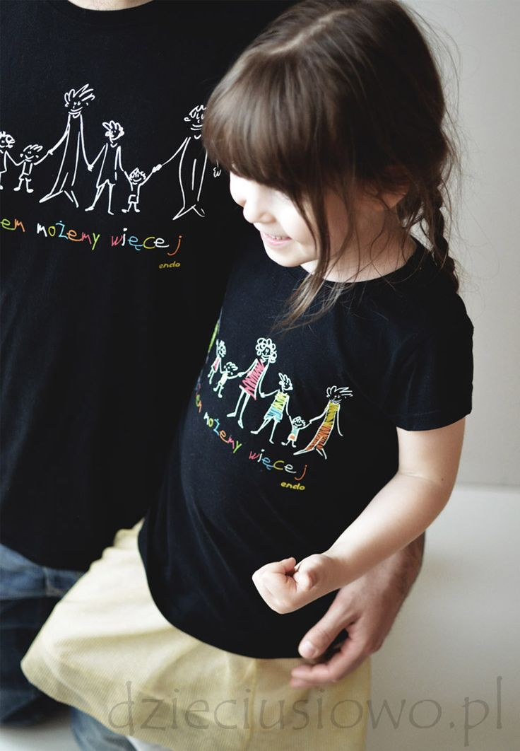 """Koszulki Endo z akcji charytatywnej """"Razem możemy więcej"""" w obiektywie bloga Dzieciusiowo"""