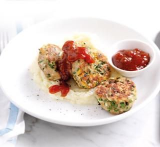Yuor 20 minute Herby chicken rissoles recipe! | Australian Healthy Food Guide
