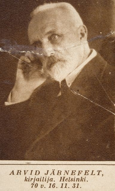 kirjailija Arvid Järnefelt 1931 Museovirasto
