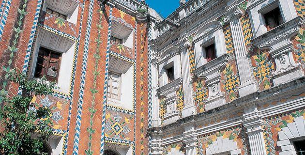 1000 images about talavera tiles in architecture on pinterest for Casa de los azulejos puebla