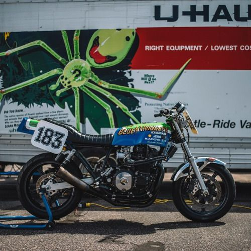 caferacersofinstagram: A badass 1980 Kawasaki Z1000 MK2 built...  caferacersofinstagram:  A badass 1980 Kawasaki Z1000 MK2 built by Yasuo Arai. Spotted at Pikes Peak by @brandon_lajoie. Looking forward to seeing photos from the event thank you!  #croig #caferacersofinstagram