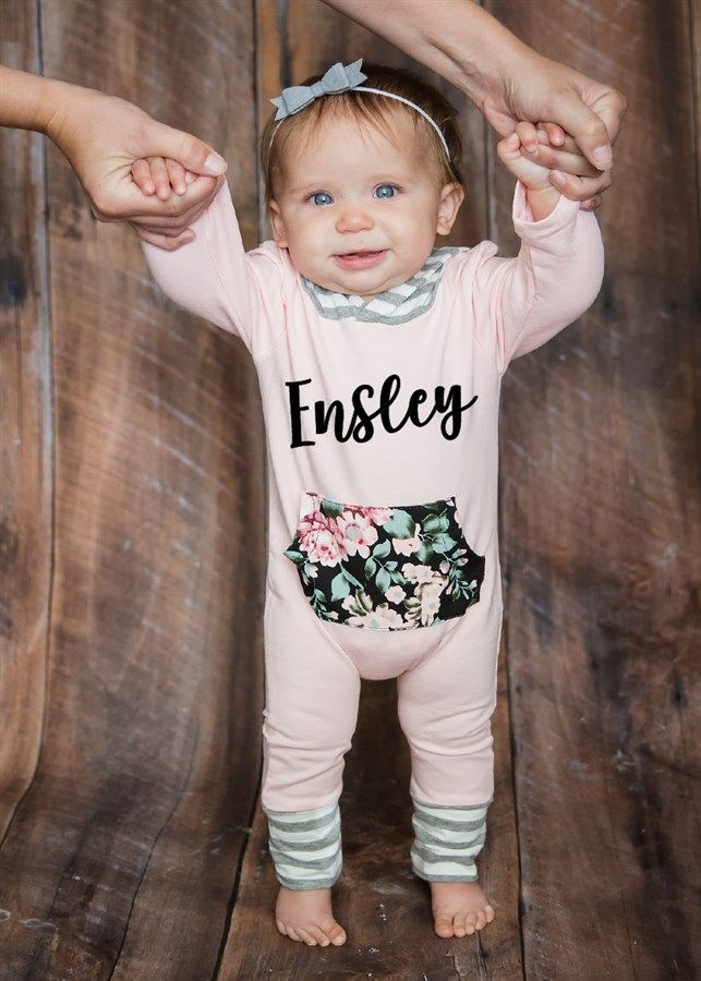 Adorable Personalized Rompers for your Sweet Little Ones. Boys and Girls Options Available.