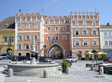 Retz - hrad a město