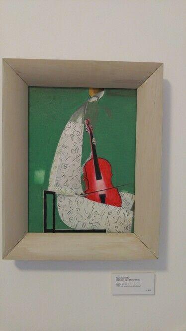 Obraz Marka Leszczyńskiego. #cello