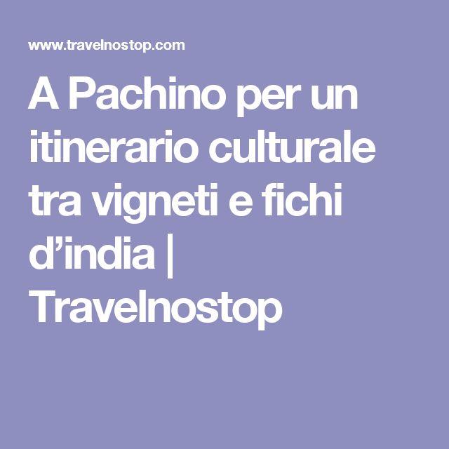 A Pachino per un itinerario culturale tra vigneti e fichi d'india | Travelnostop