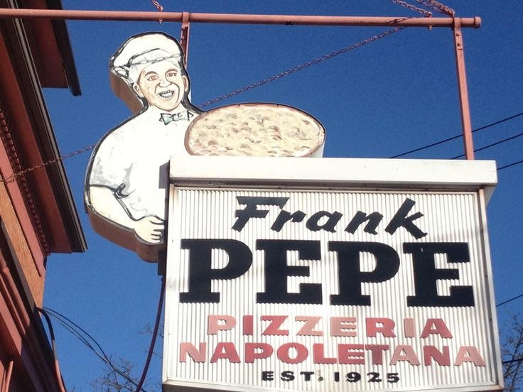 Pepe's Pizza, New Haven, CT: One of my favorite reasons that I am from New Haven area...yummy!