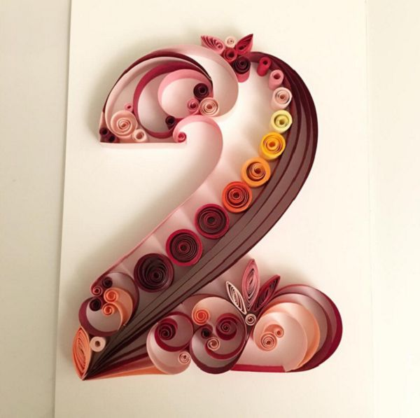 616 best quilling letters words and numbers images on pinterest quilling art altavistaventures Images