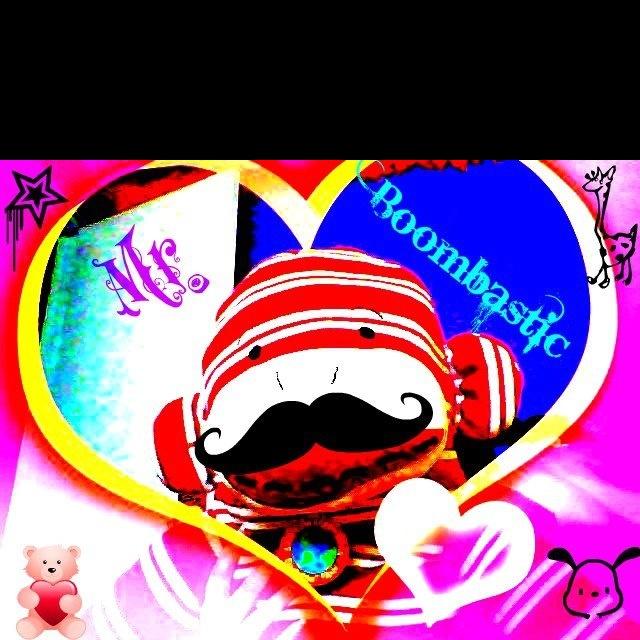 Picnik edit of my giant sock monkey mr boombastic