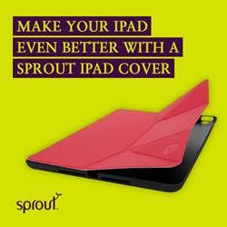 Make your iPad even better with a Sprout iPad cover. Is your iPad wearing the best? #sprout #freedomtogrow #ipad #ipadcase #ipadcover