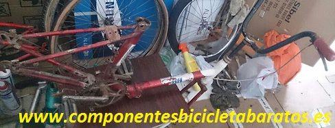 El siguiente paso es pasar por pintura ... chan chan .. que color será ! Propiedad de componentes bicicleta baratos en Zaragoza.