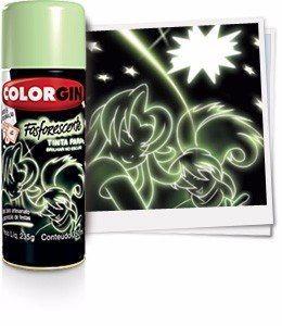 Tinta Spray - Colorgin Fosforescente - 235g - R$ 63,80