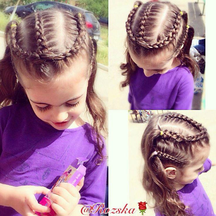 Прически из кос, косы для девочек