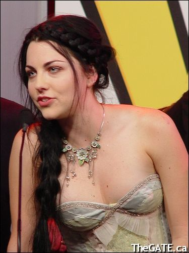 Amy Lee- this hairstyle... :D
