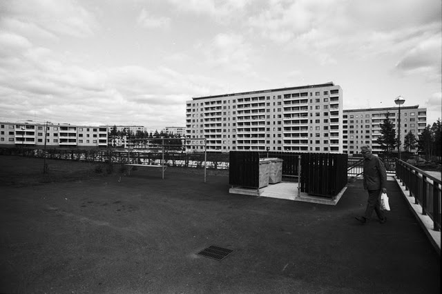 Kontula, Helsinki 1970. Photo by Simo Rista.