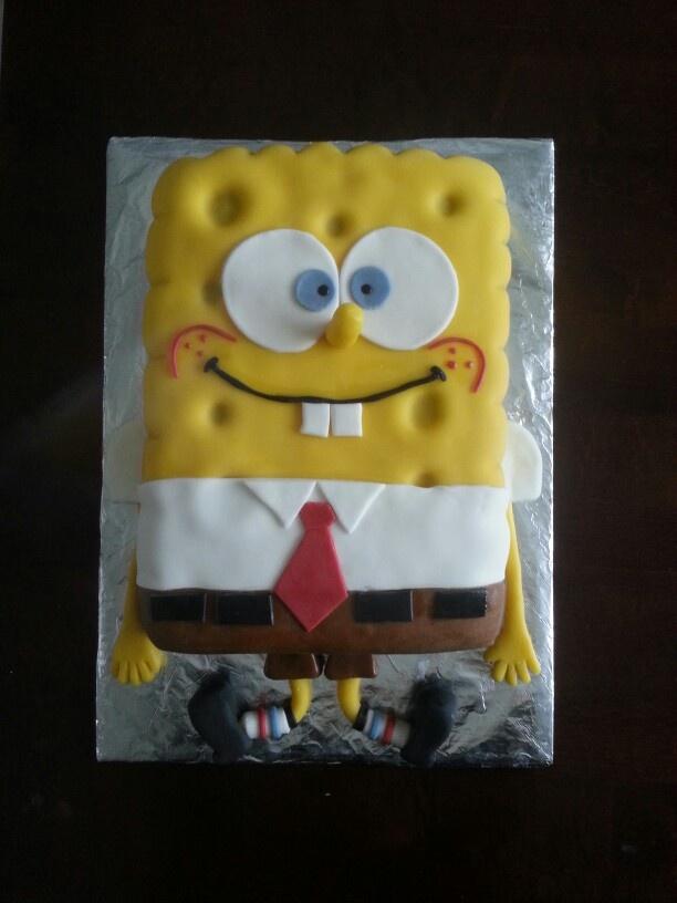 Bananabread-chocolademousse Sponge Bob