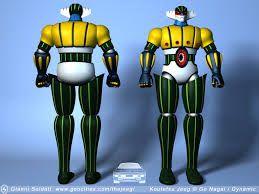 Risultati immagini per jeeg robot 3d model