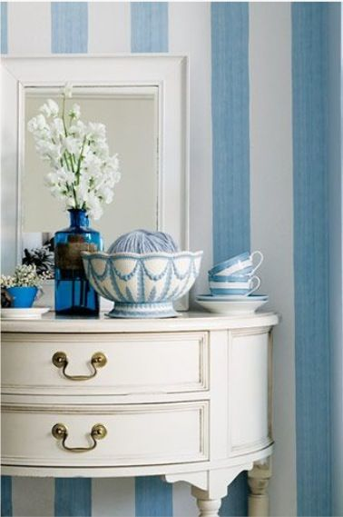 ⭐Blue vignette....love the stripes