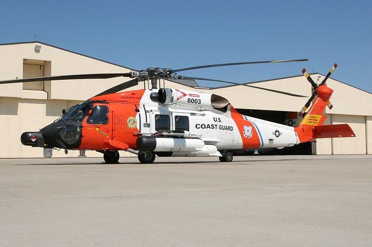 US Coast Guard UH-60J Jay Hawk.