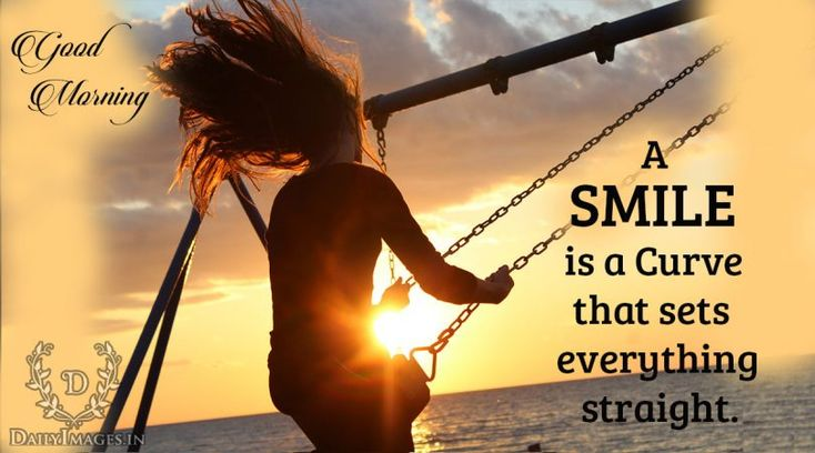A smile is a curve that sets everything straight: Good Morning #goodmorning #gm #quotes