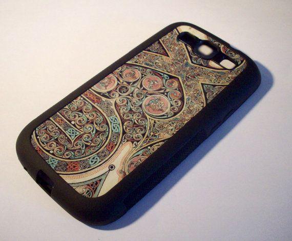 Samsung Galaxy S3 case  Lindisfarne Gospels by GelertDesign, £7.00