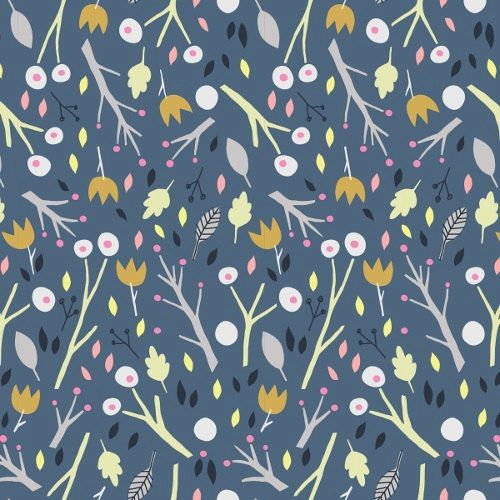 Cloud9 Fabrics Sweet Autumn Day Whymsical Wood in by SusieDDesigns