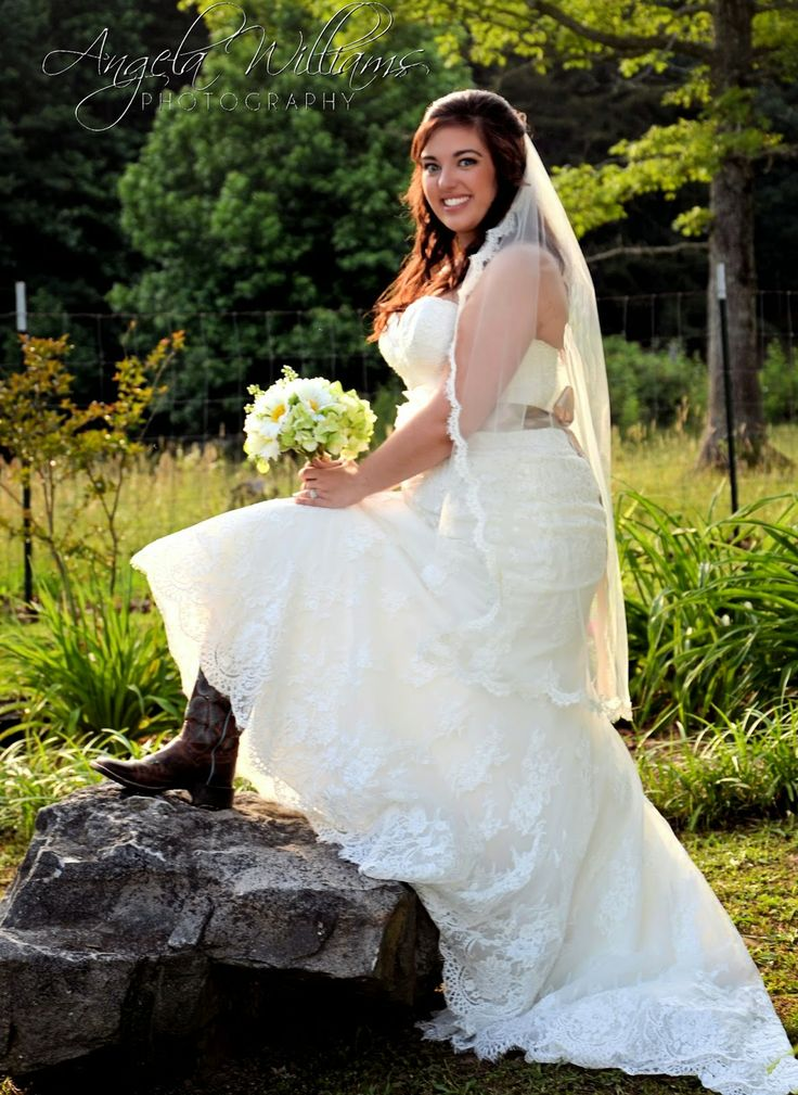 Country Bride In Boots