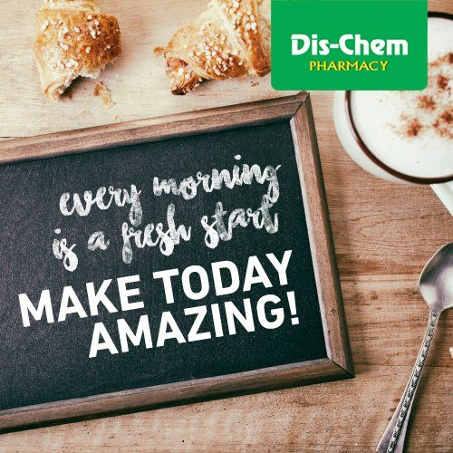 Every morning is a fresh start. Make today amazing!