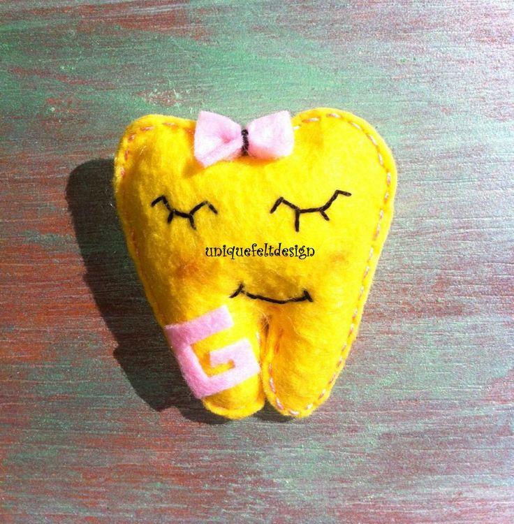 Felt Magnet - Keçe Diş :)