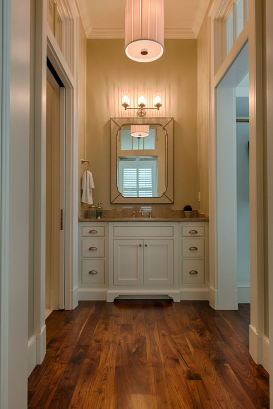 Guest bath featuring the Perfect Pleat Lantern and Ava Triple Bath Sconce | design by Coastline. Savannah GeorgiaBeautiful BathroomsRaveCirca ... & 108 best circa lighting blog images on Pinterest | Circa lighting ... azcodes.com