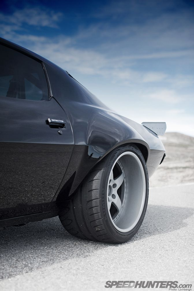 Pontiac Firebird in some really nice shoes. #muscle #car