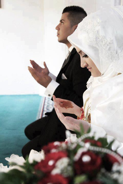 The purity of a Muslim bride♥ #PerfectMuslimWedding