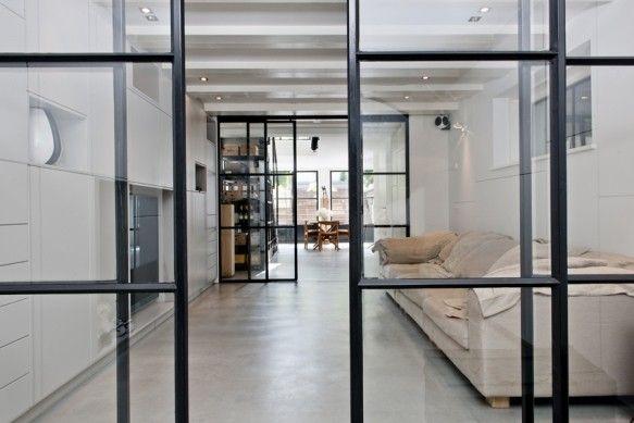 Stalen deuren, Prinsengracht | Kodde Architecten