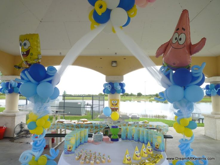 High Quality Balloons Spongebob Room Decorating Ideas For Birthday Party