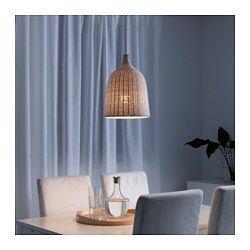 IKEA - LERAN, Hanglamp, , Elke handgemaakte lampenkap is uniek.Geeft zowel…