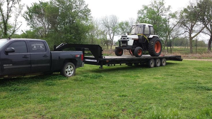40 Ft Gooseneck Trailer With Ramps Flatbed Trailers