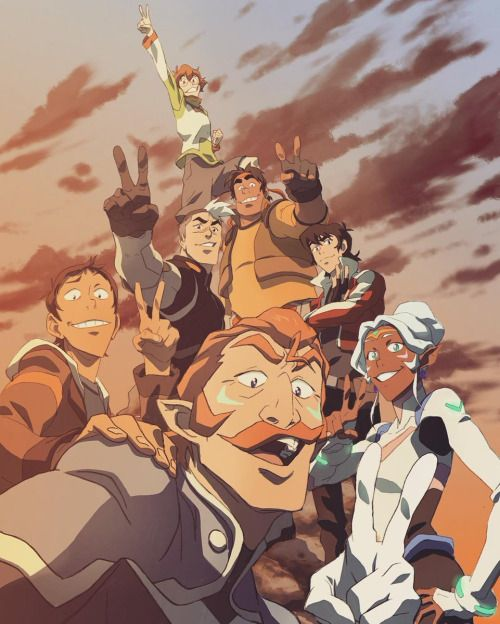 Voltron is essentially Sokka, Bolin, Tadashi Hamada, Nico DiAngelo, Princess Zelda, and Nigel Thornberry in space. It's awesome.