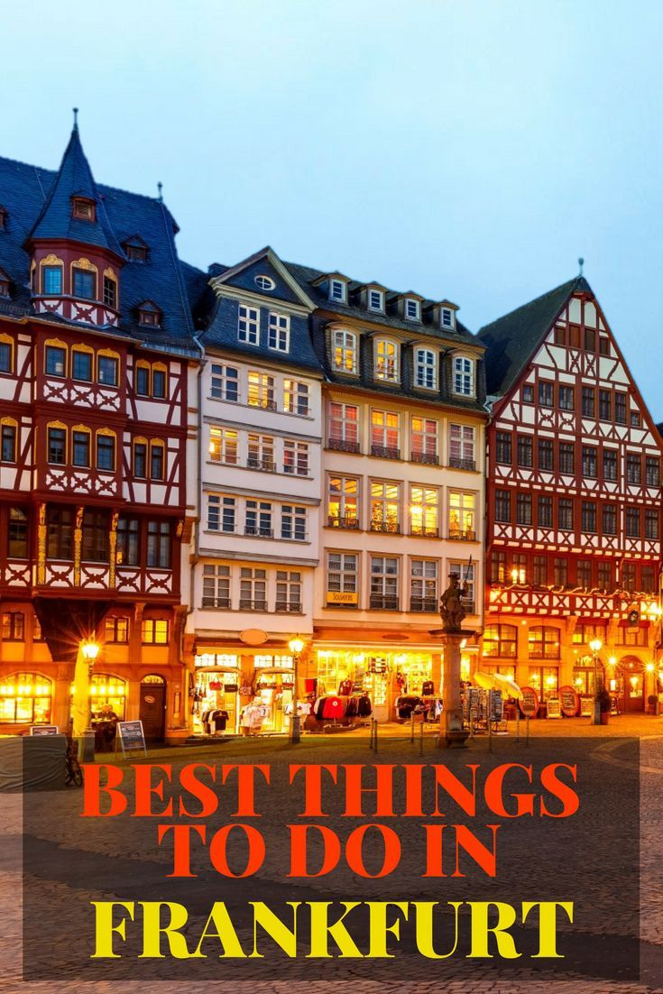 12 Best Things To Do In Frankfurt In Winter Things To Do