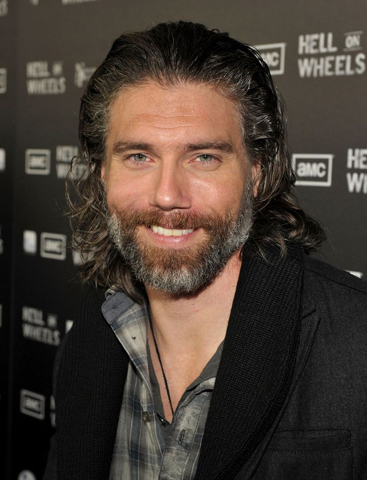 Anson Mount - Oh how I love a man with a beard! In fact, almost any man looks better in a beard, as far as I'm concerned. - hehe