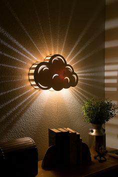 Nuage  Tenture murale Night Light  lampe de par LightingBySara