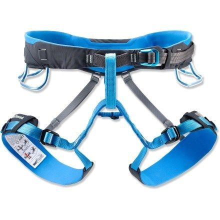 Black Diamond Aspect Climbing Harness, more comfort and it can be used for rock and ice.