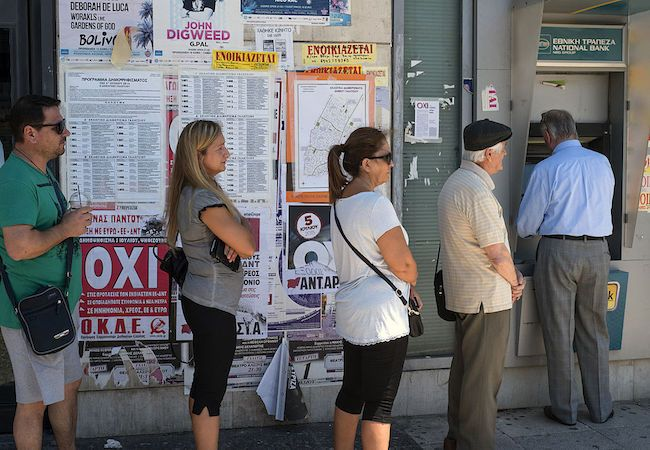 Greeks say 'NO' to an open laboratory for violation of human rights