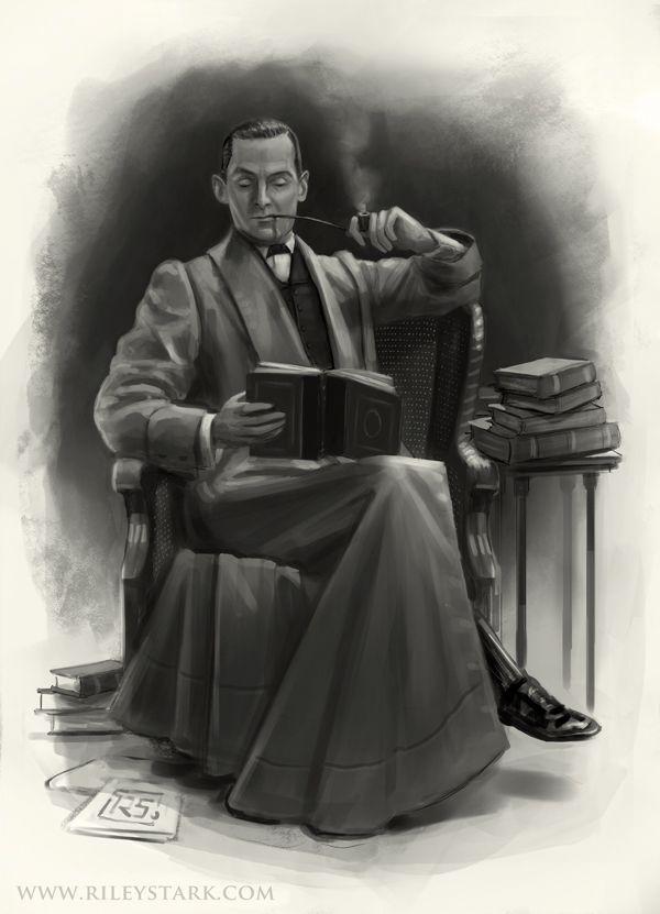 Image result for sherlock holmes reading