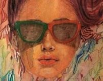 Looking for the summer by otilia elena, via Behance