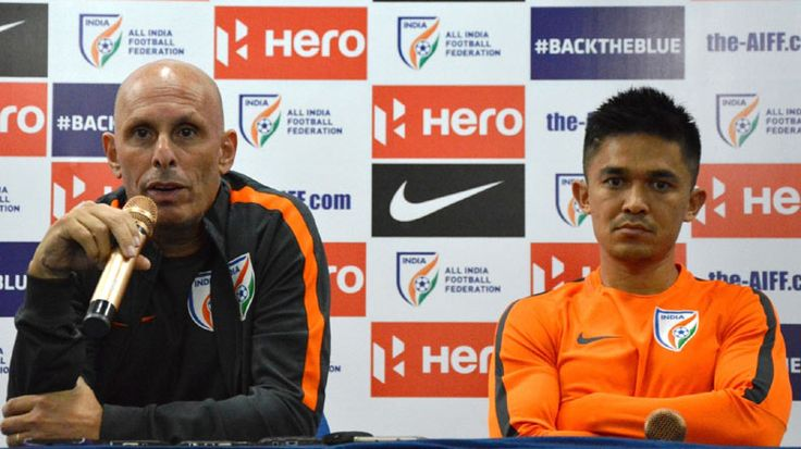 """After defeating Macau in the Asian Football Confederation (AFC) Asian Cup qualifier, India coach Stephen Constantine said he was satisfied and happy with the win. """"Congratulations on the victory. It was very difficult to break down their defence. It is a very valuable win for us. And we stay on top of Group A with … Continue reading """"Satisfied With Win Against Macau, Says India Football Coach"""""""