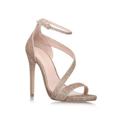 Carvela Gold 'Gosh' High heel Sandal- at Debenhams.com