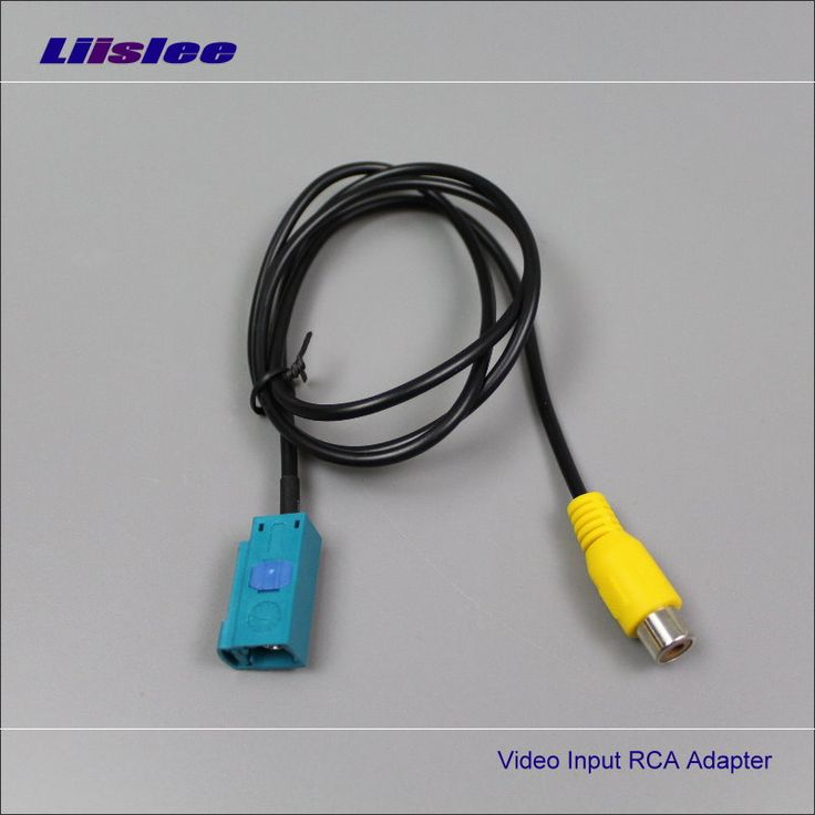 17 of 2017 s best rca connector ideas rgb led strip original video input switch rca adapter for volvo s80 s80l 2012~2014 rear view camera